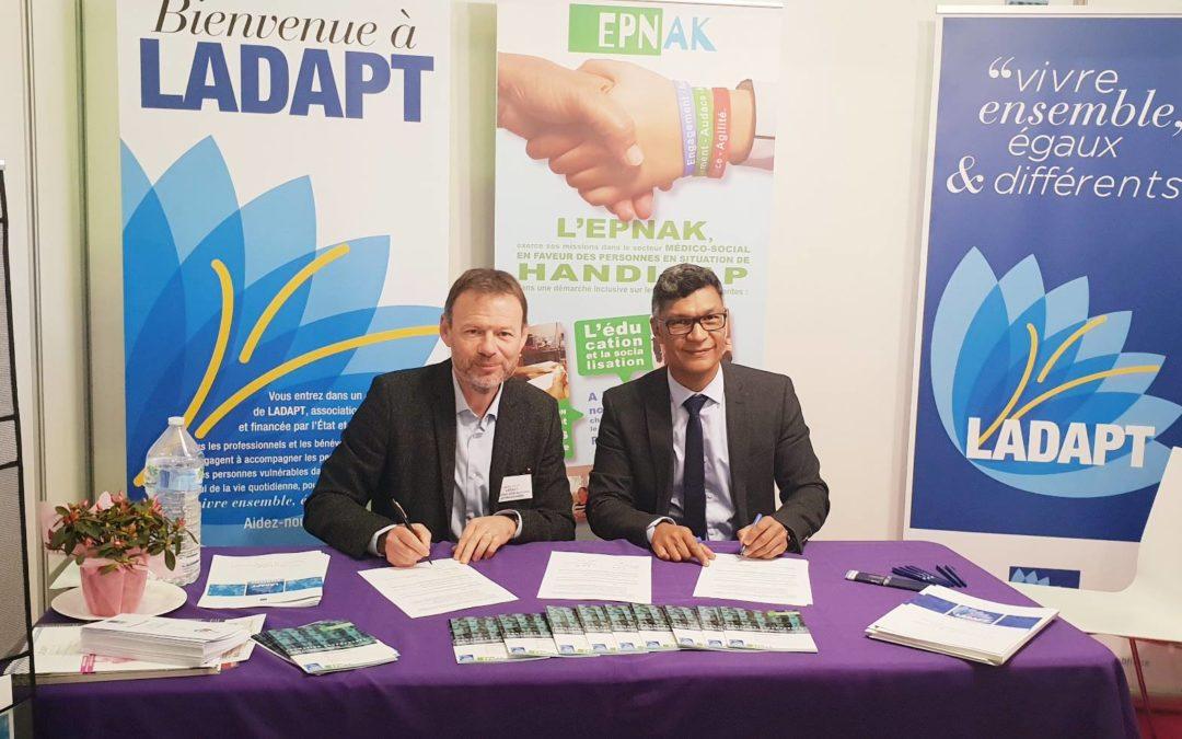 L'EPNAK et L'ADAPT Normandie deviennent partenaires pour la formation accompagnée