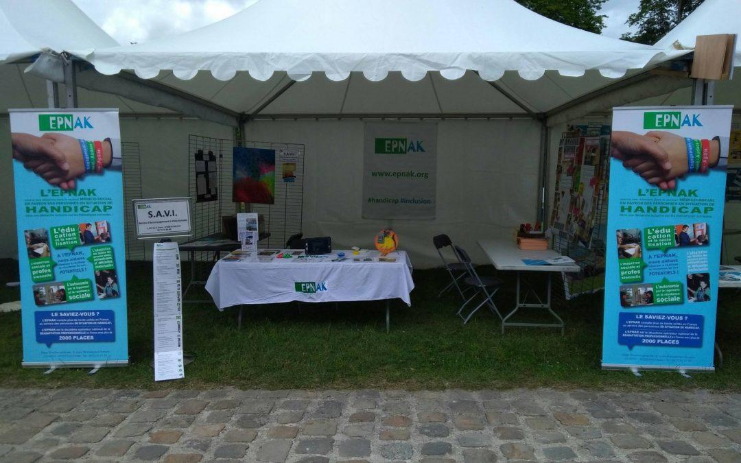 Le CRP a participé à la journée Main dans la Main dans l'Essonne.
