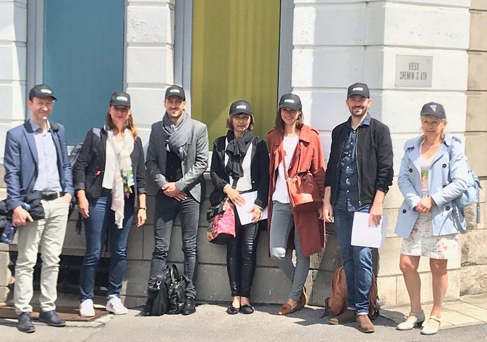 Les équipes du CRP de Roubaix et du CPO de Valenciennes ont visité le CRP Prorienta de Tournai en Belgique.