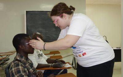 Lunettes sans frontières : Ophélie «fière d'avoir contribué à ce projet.»