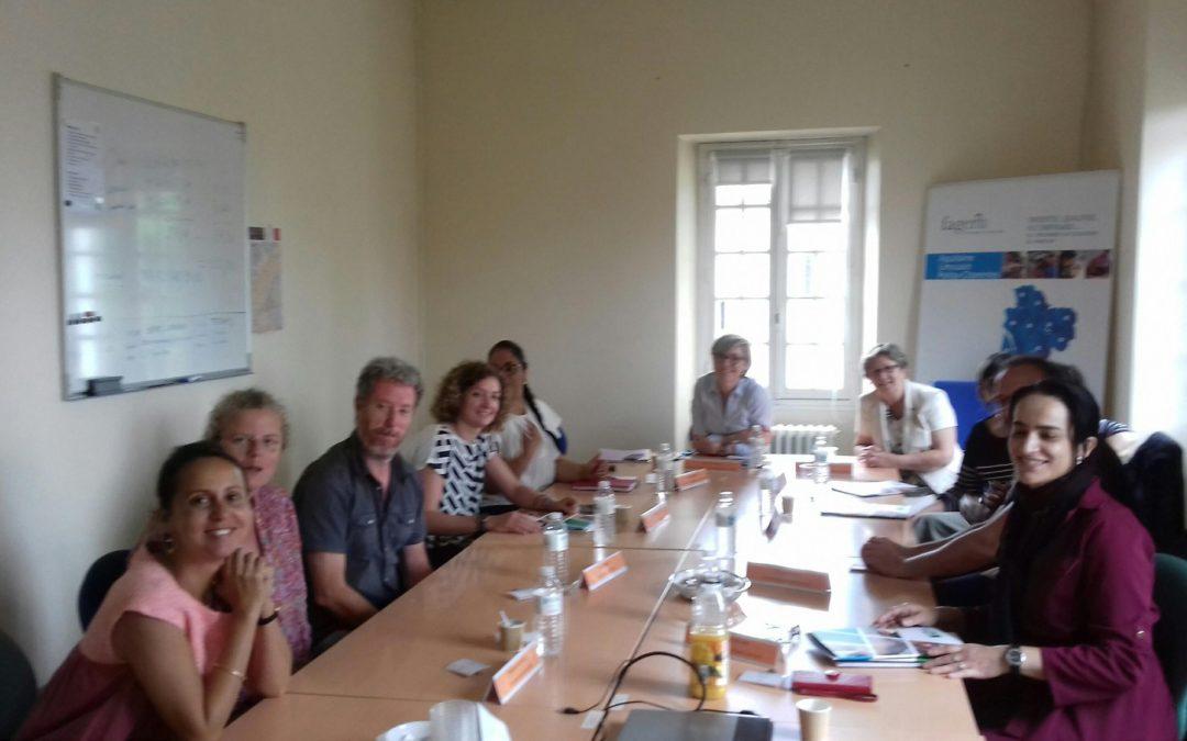 Petit déjeuner entre partenaires locaux pour la présentation du nouveau dispositif de Préparatoires.
