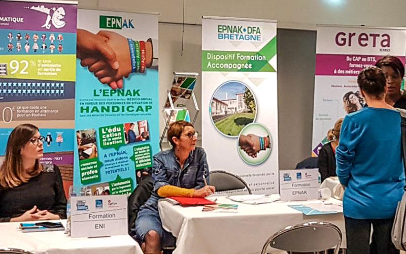 L'EPNAK présent au Forum Emploi de Rennes.