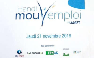 SEEPH 2019 : Handimouv'emploi, une action pour les demandeurs d'emploi.