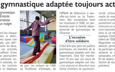 Des actes de solidarités pour les enfants de l'IME de Gillevoisin