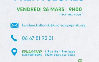 Découvrez la Prépa-Jeunes de l'ESRP de Soisy-sur-Seine