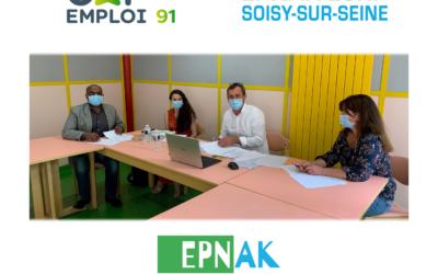 Nouveau partenariat entre l'ESRP de Soisy-sur-Seine et Cap Emploi 91