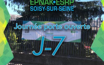 J-7 pour la journée porte ouverte de l'ESRP de Soisy-sur-Seine