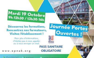 Journée Portes Ouvertes à l'ESRP EPNAK Roubaix